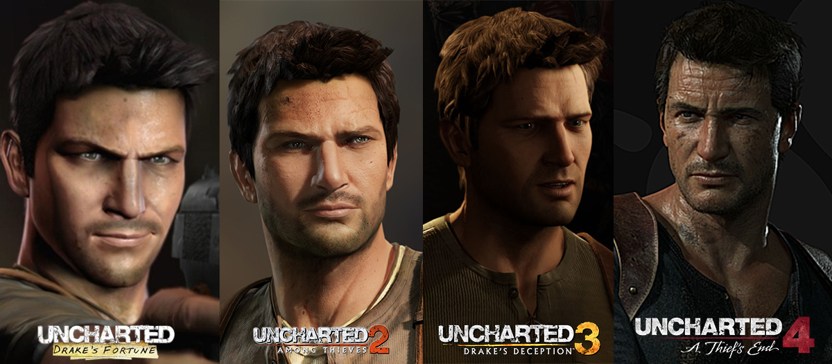 Uncharted Comparisons Nathan Drake By Gtone339 On Deviantart