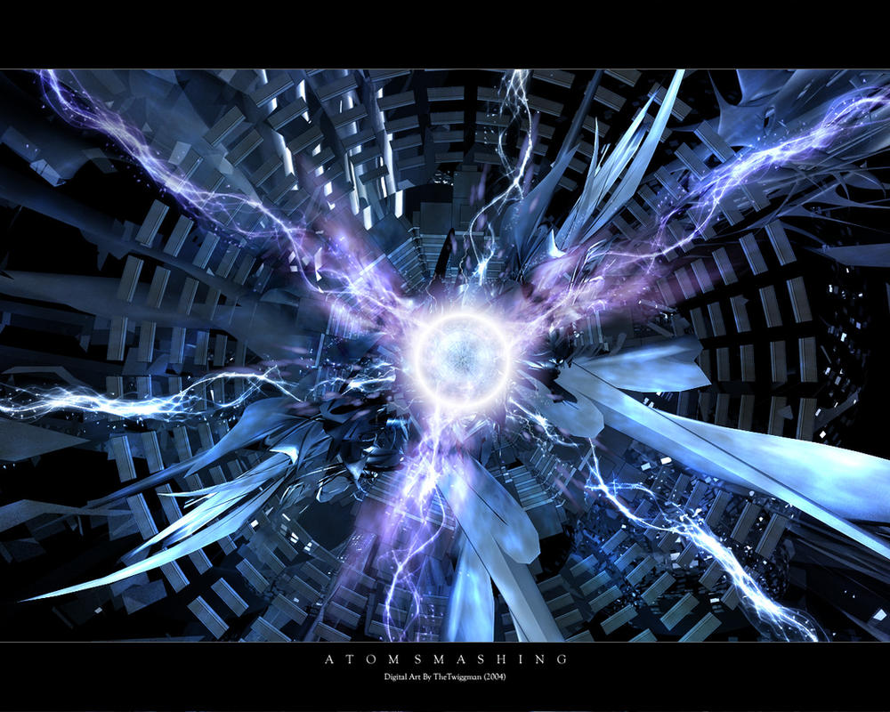 Atom Smashing by thetwiggman
