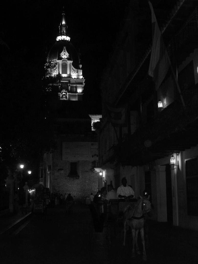 Night in Cartegena by fingers2002