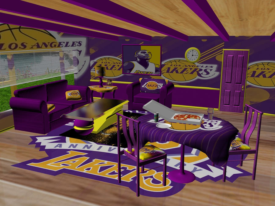 Bon Lakers Man Cave Ideas : Lakers Bedroom Ideas Images Hall Of Fame