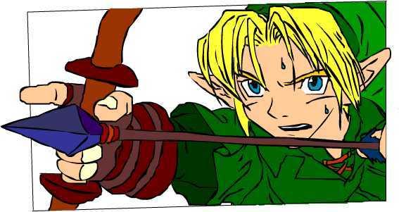 Link Zelda by shiohigari