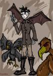 Sketchy Bird Man
