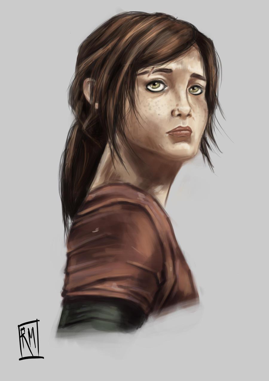 Ellie The Last Of Us Fan Art By Reneemars On Deviantart