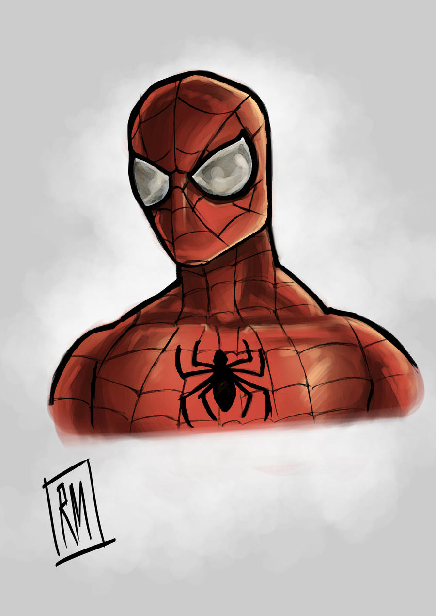 Spider-Man fan art by ReneeMars