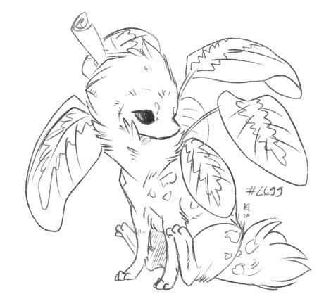 TWWM: little sketch of Chibi