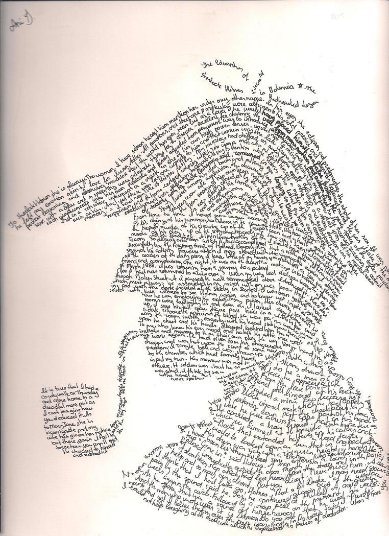Sherlock Holmes by Anicosha