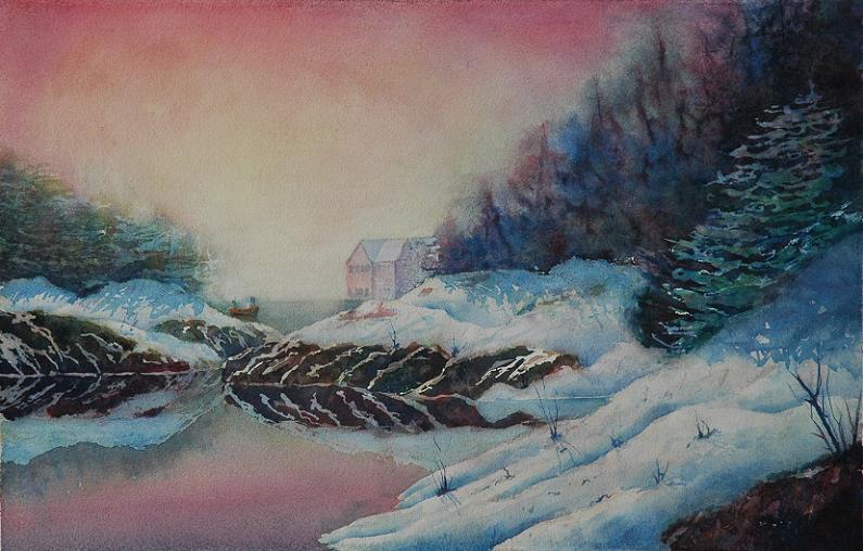 Winter Coast by EinarAasen