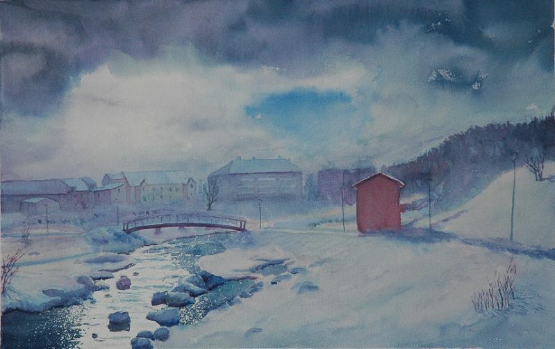Winter End by EinarAasen