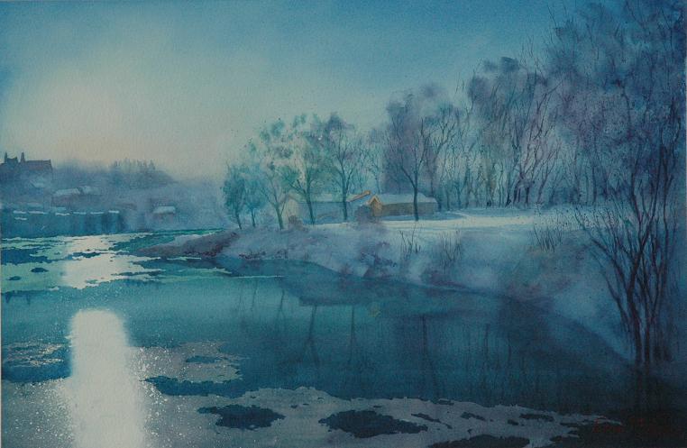 February Sun by EinarAasen