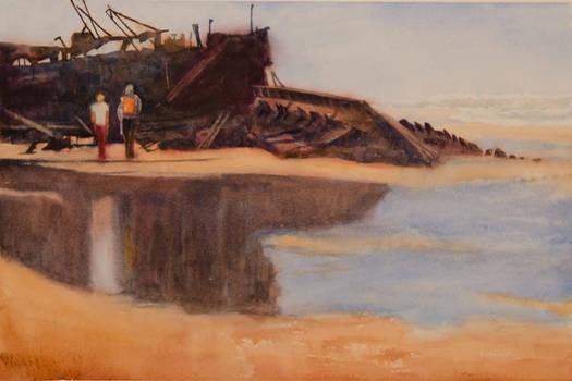 At the Beach by EinarAasen
