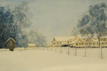 Jegtvolden Winter by EinarAasen