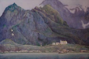 Lofoten Moskenes by EinarAasen