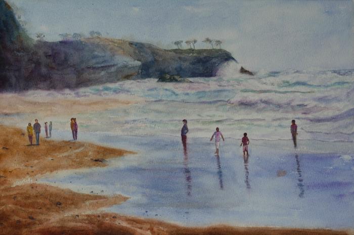 Sunrise Beach by EinarAasen
