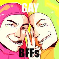 GAY BFFS by maikeru-mia