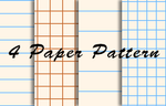 Notebook paper pattern