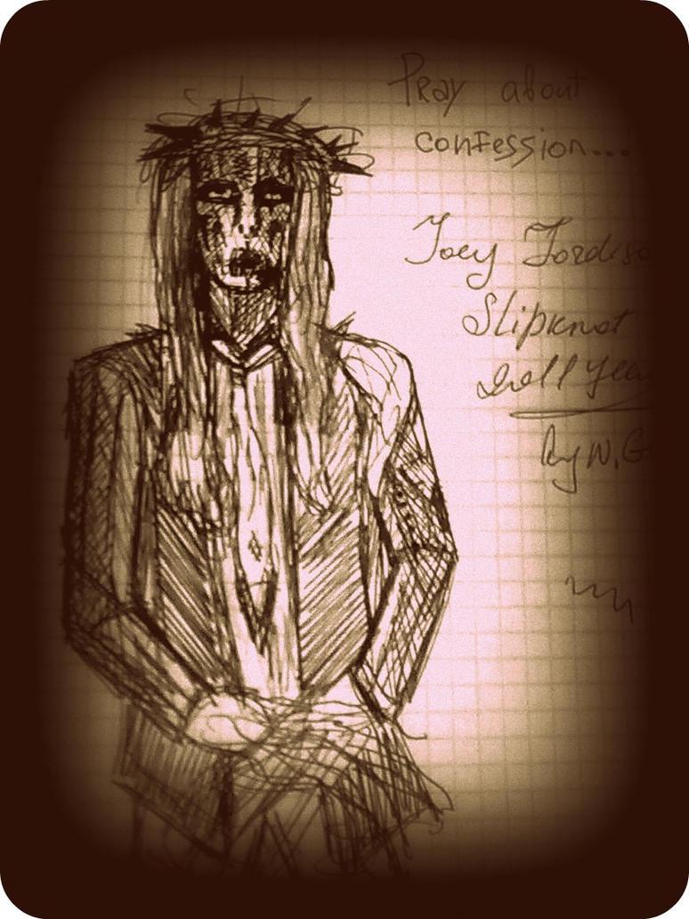 Joey Jordison By Gunay By Deathswife666 On Deviantart