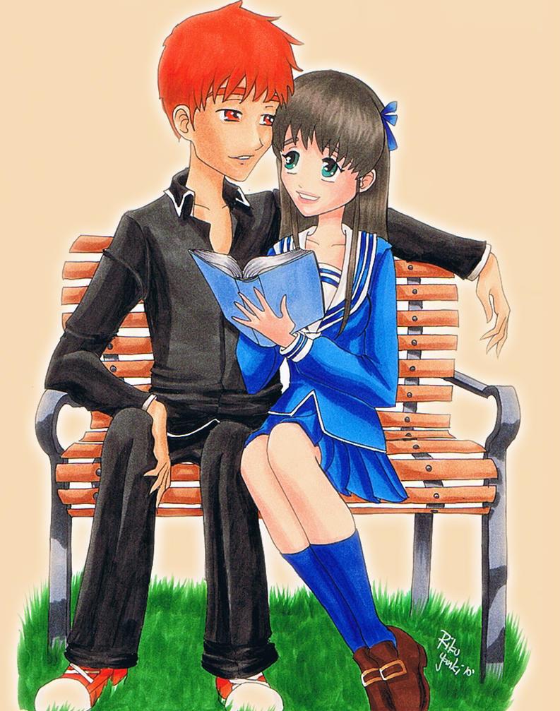 Kyo and Tohru by RikuYanki