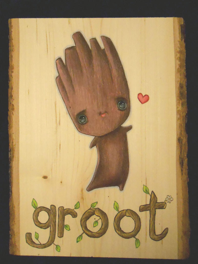 I am Groot by RikuYanki