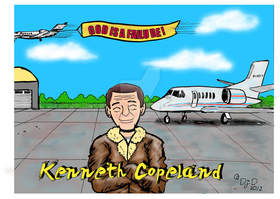 False Preacher: Kenneth Copeland by ArtNGame215
