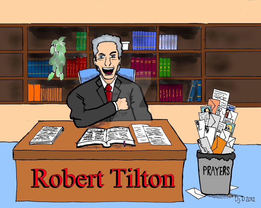 False Preacher Robert Tilton By Artngame215 On Deviantart