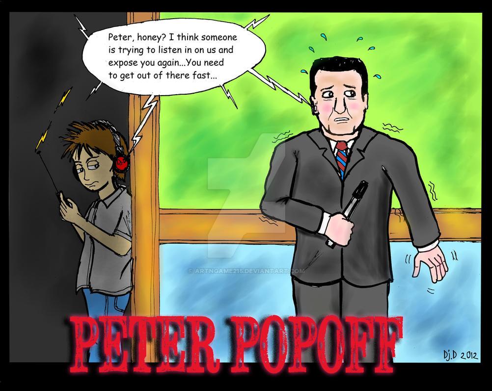 False Preacher: Peter Popoff by ArtNGame215