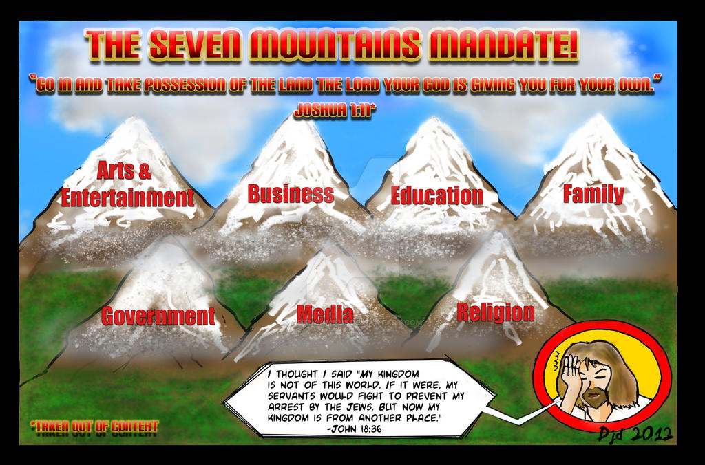 The Seven Mountains Mandate! by ArtNGame215
