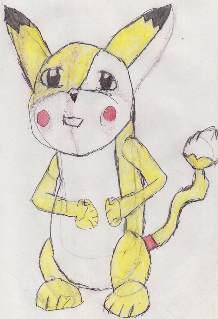 Olly's Pikachu Popple Form by meltdown44