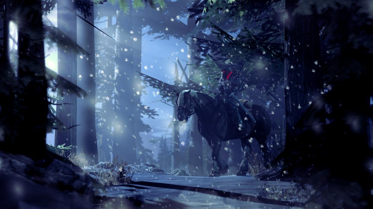 Snow forest by tallywackle on deviantart for Buy digital art online