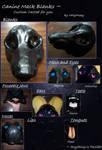 Fursuit Mask BASE - NO LONGER AVAILABLE - SEE DESC