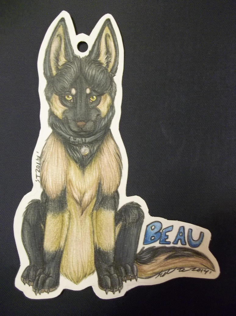 how to make a fursuit badge