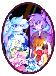 Family photo by MysticQuartelz