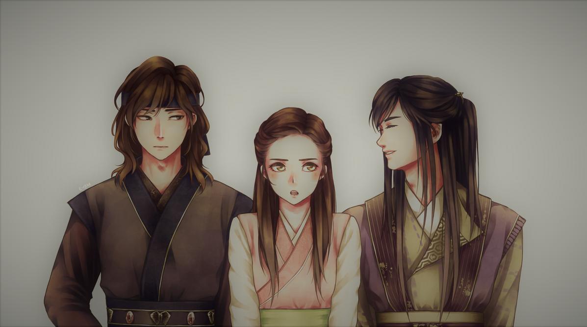HWARANG - Love triangle by E-Mika-Zg
