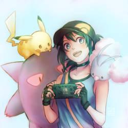 Pokemon GO and Switch Pokemon Let's GO by E-Mika-Zg