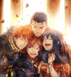 My happy family - FEH by E-Mika-Zg