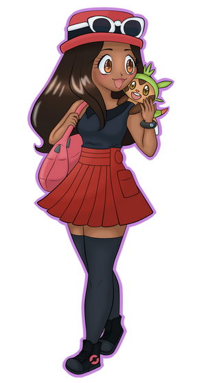 Pokemon X and Y Female Trainer