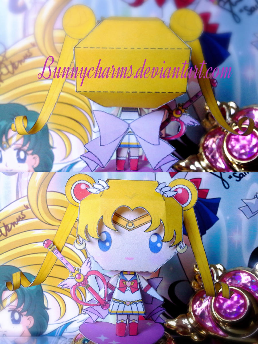 Super Sailor Moon by bunnycharms