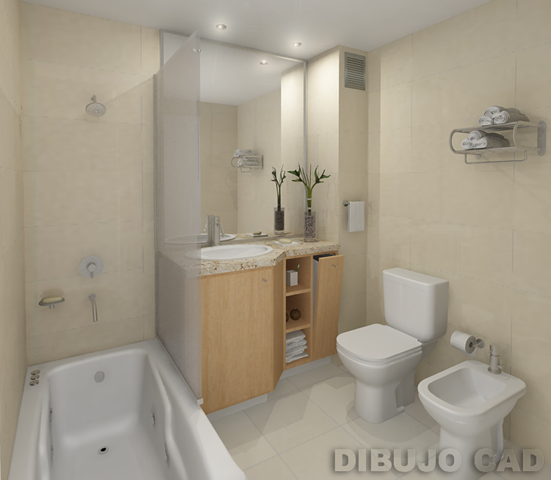 3d bathroom by dibujocad on deviantart for 3d bathroom drawing