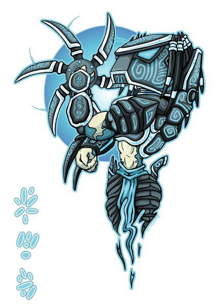 Aztec Predator by R3dEyeJedi on DeviantArt