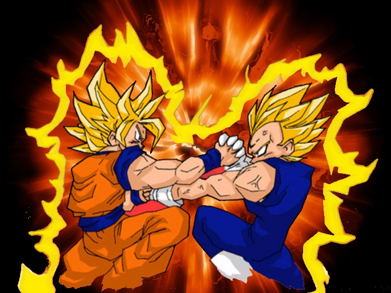 Goku Fase 10000 Vs Vegeta Fase 10000: Mugen's Vault