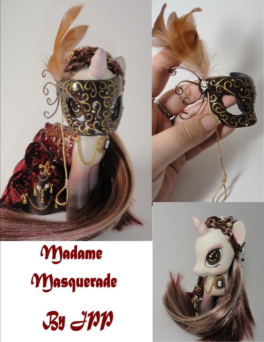 Madame Masquerade View 3 by JoshsPonyPrincess