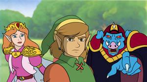 Modern Zelda Cartoon by SUPERMARIOGALAXY13