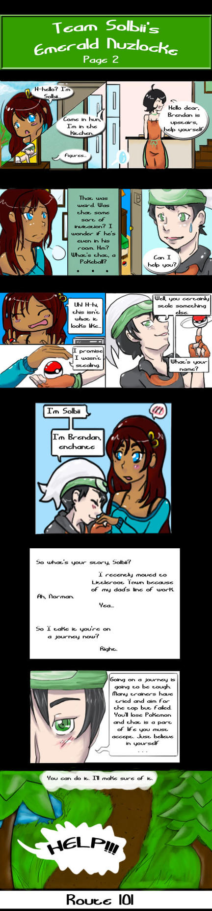 Team Solbii's Emerald Nuzlocke Page 2: Revamped. by SolbiiMelody