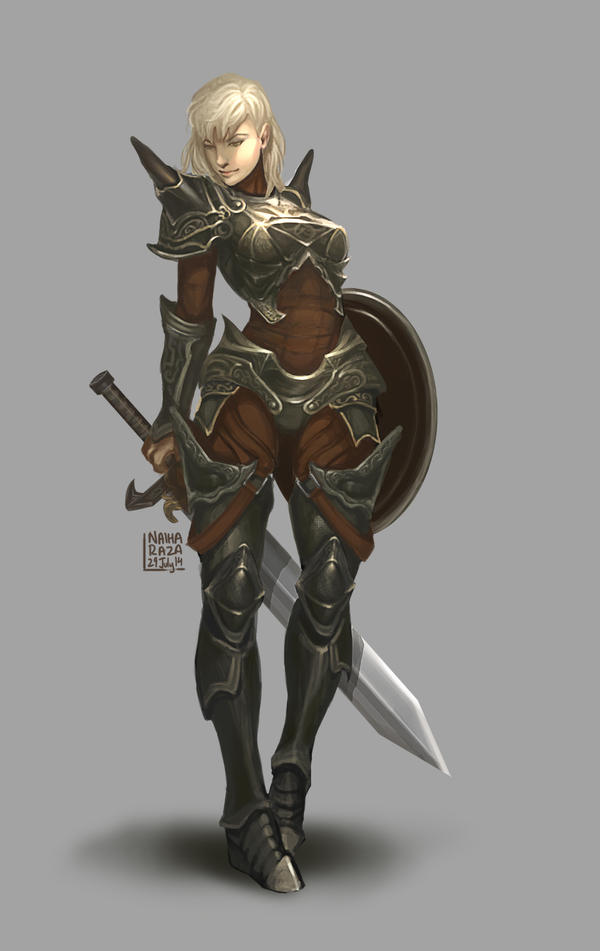 Armor Maiden by nraza