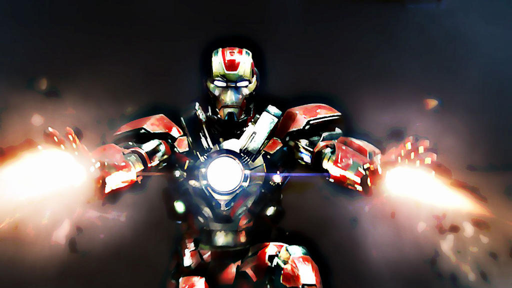 Iron Man Mk 17 Heartbreaker Suit By Comicfann ...