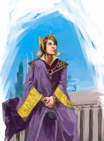 Emperor Larsa by digitaltart