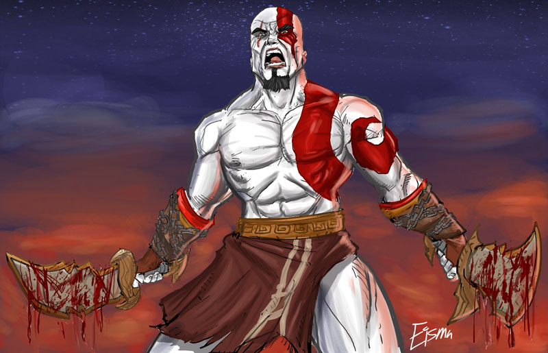 God of War by Supajoe