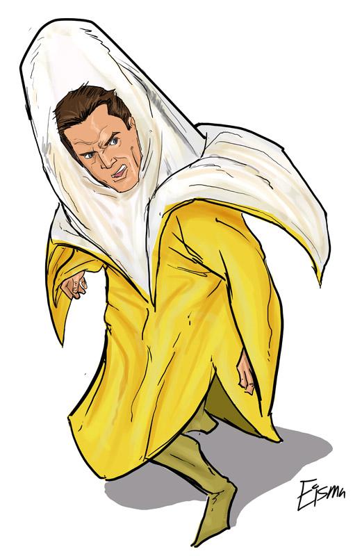 600 Dollar Banana Suit by Supajoe