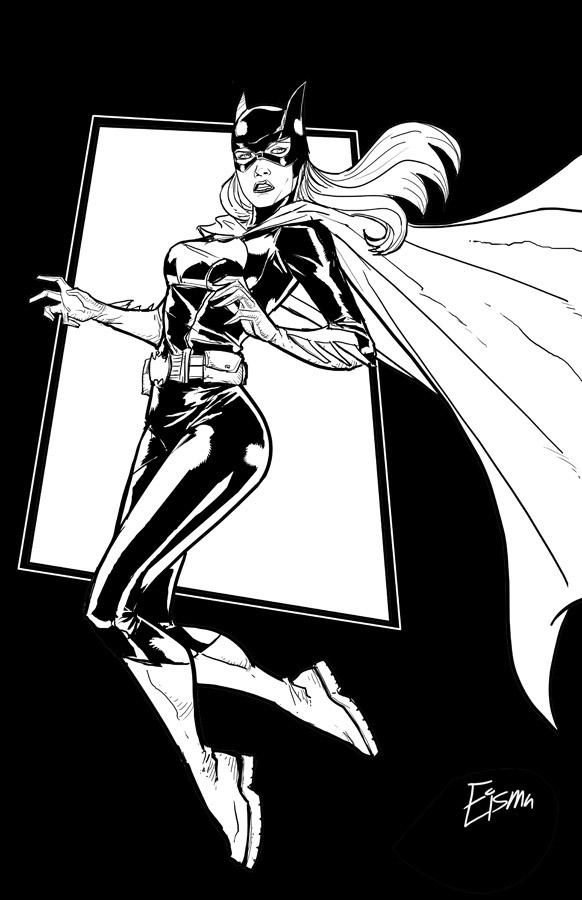 Batgirl by Supajoe