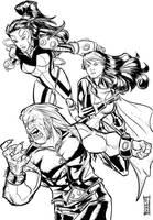 X-men by Supajoe