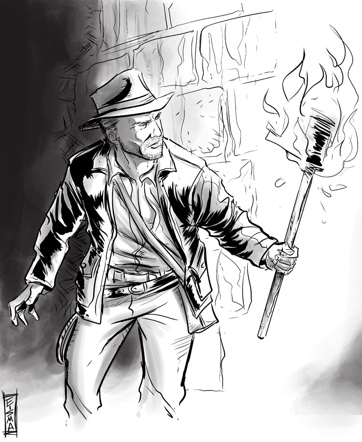 Indiana Jones By Supajoe On Deviantart